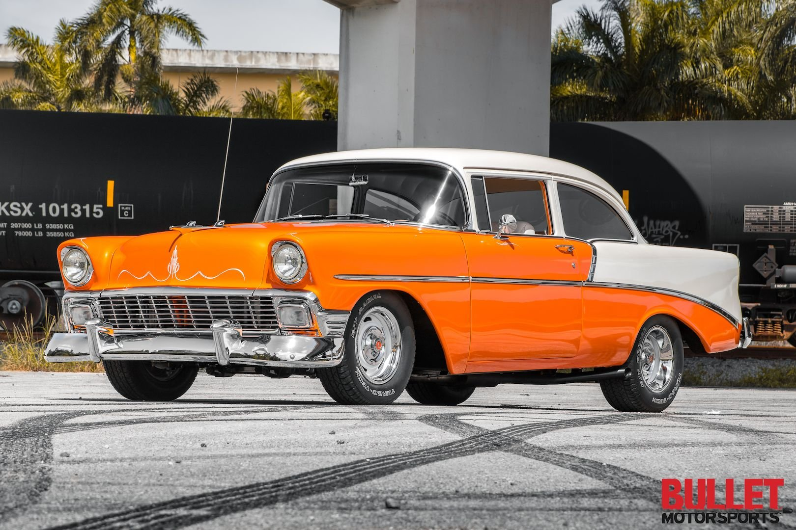 1956 supercharged chevrolet belair pro touring