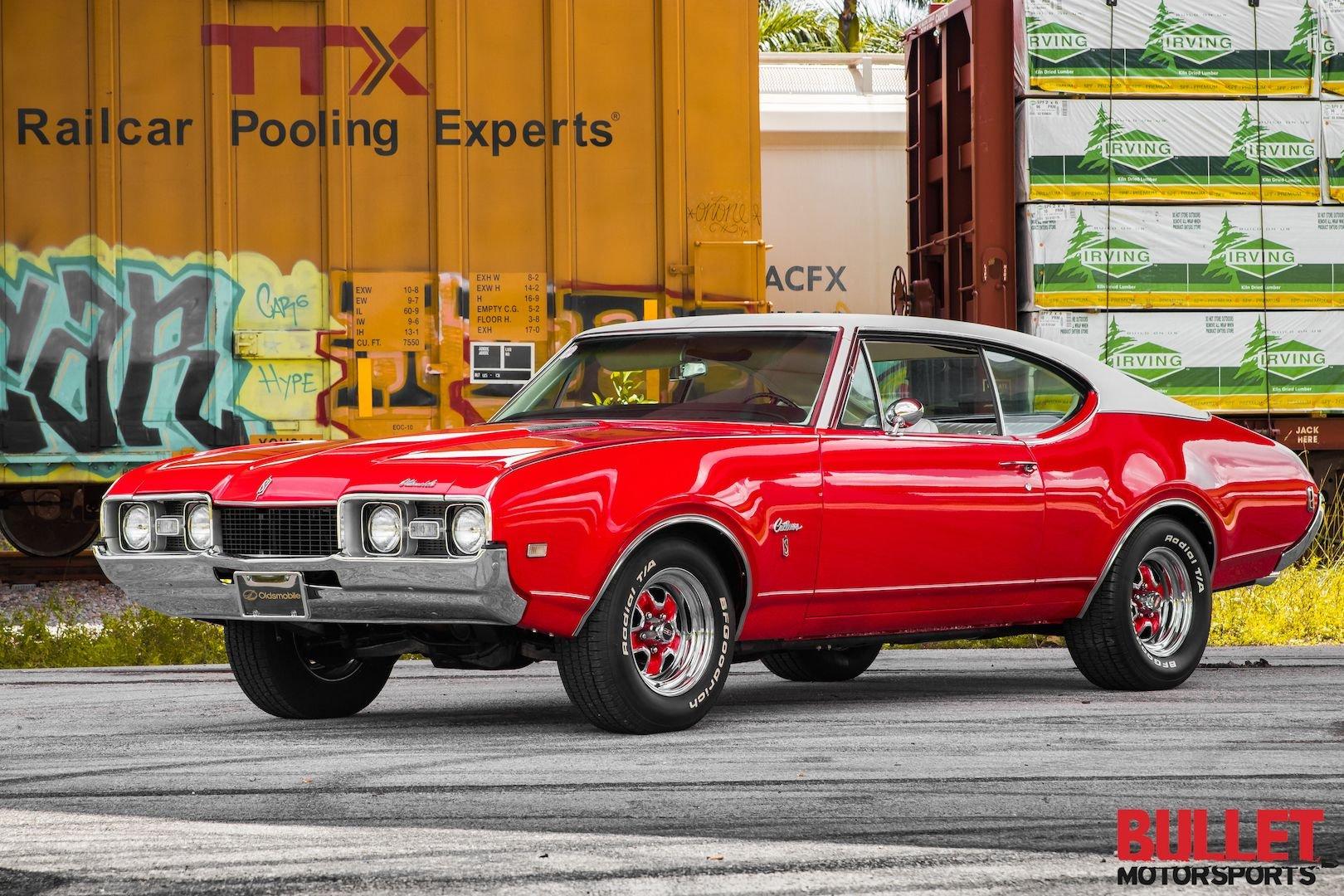 1968 oldsmobile cutlass supreme