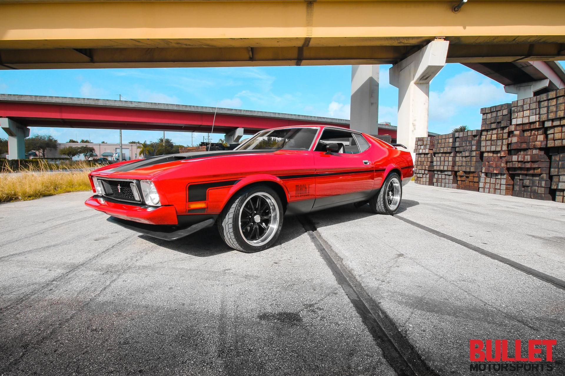 1973 ford mustang 351 mach 1 tribute