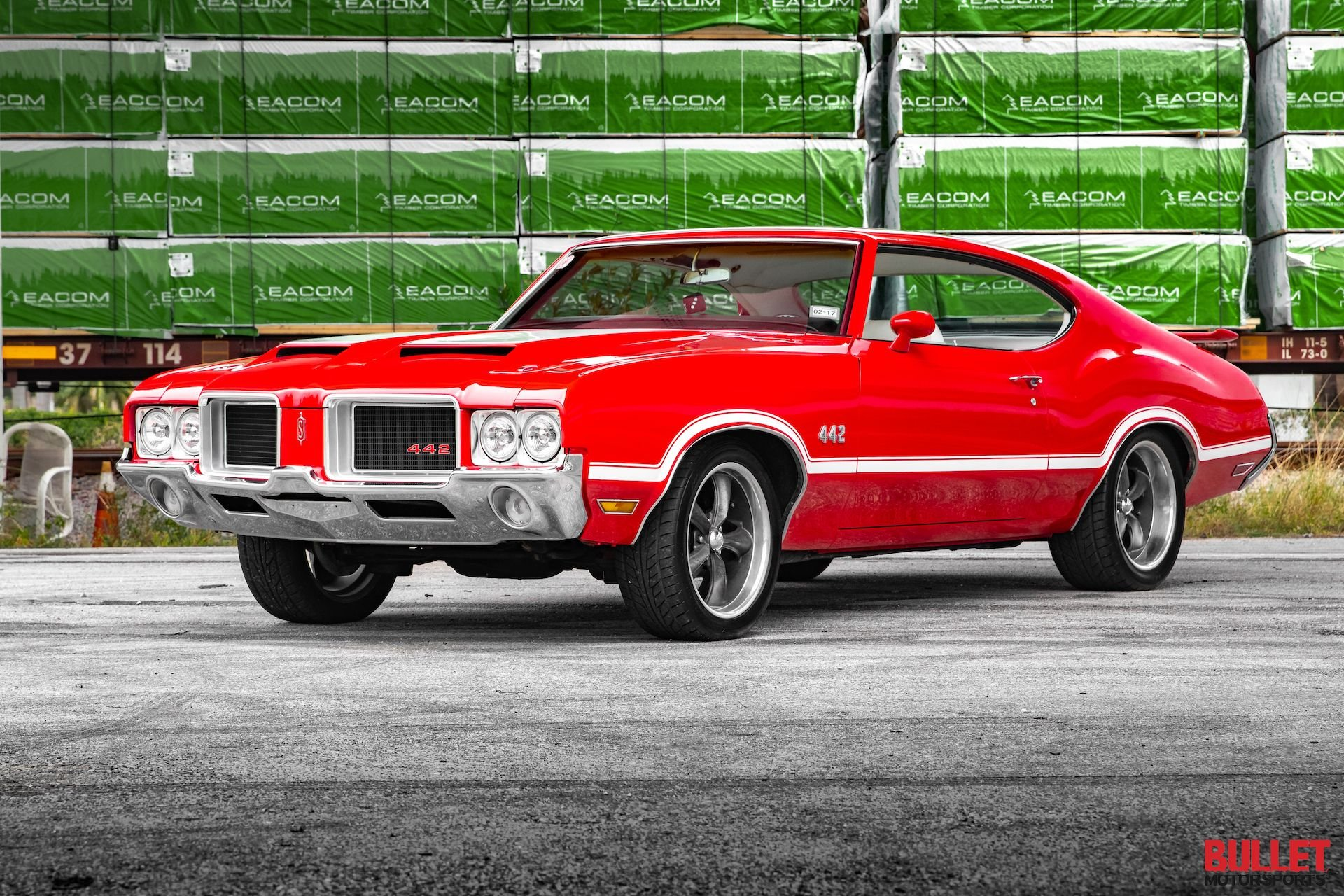1971 supercharged oldsmobile 442 tribute