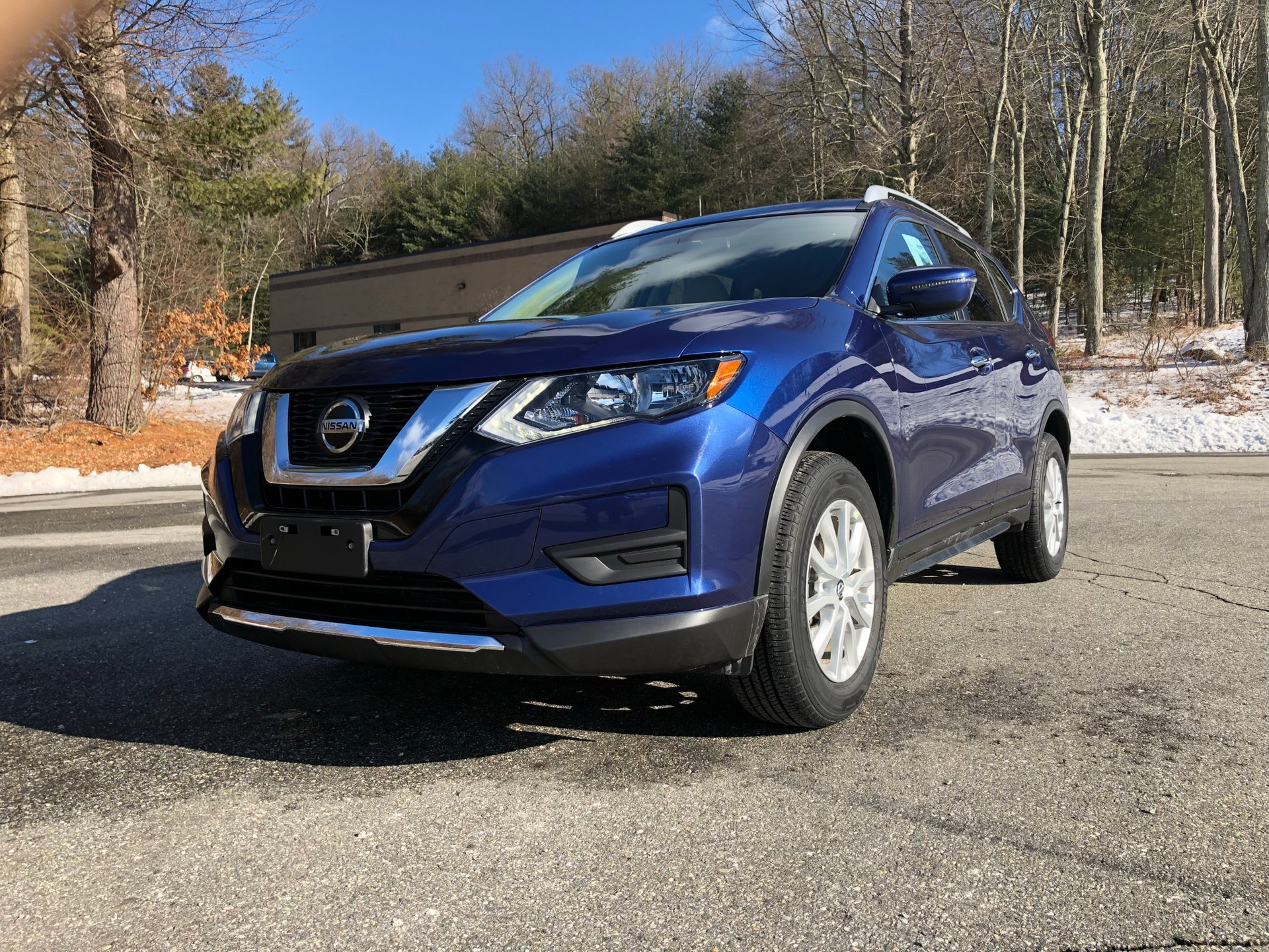 2018 nissan rogue awd 4dr sv