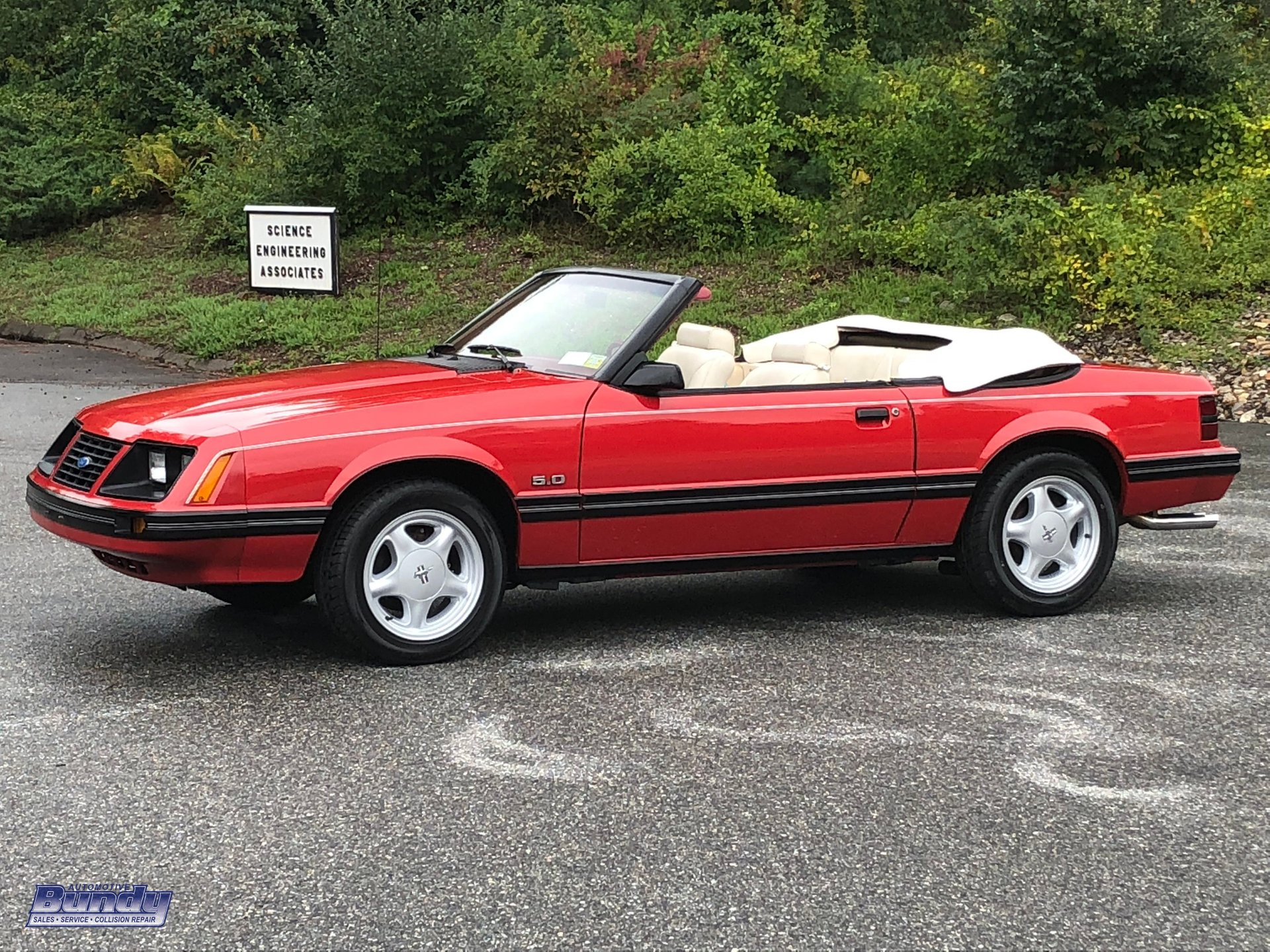 1983 ford mustang glx gt convertible