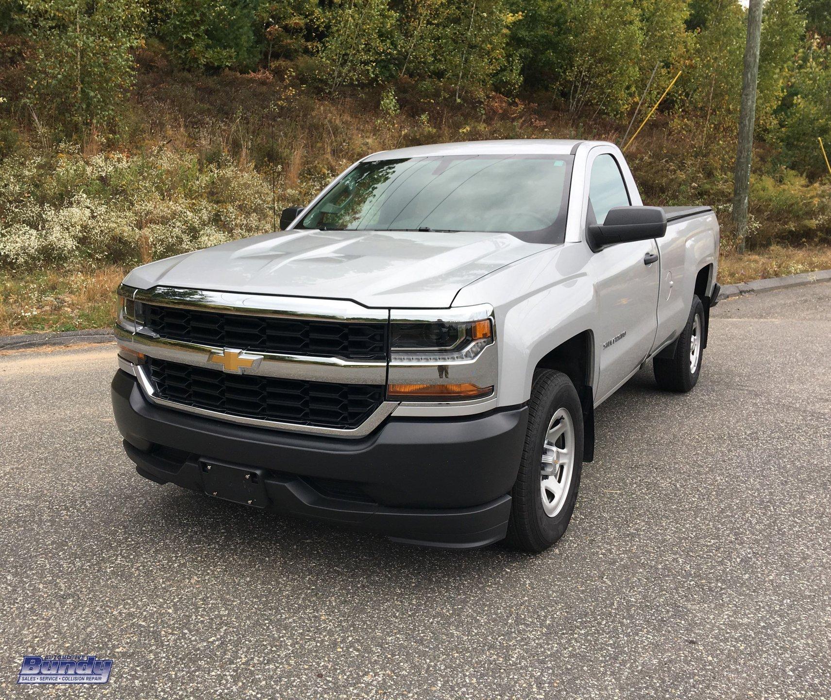 2018 chevrolet silverado 1500 2wd reg cab 133 0 work truck