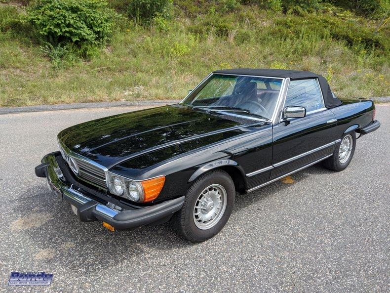 1985 Mercedes-Benz SL380