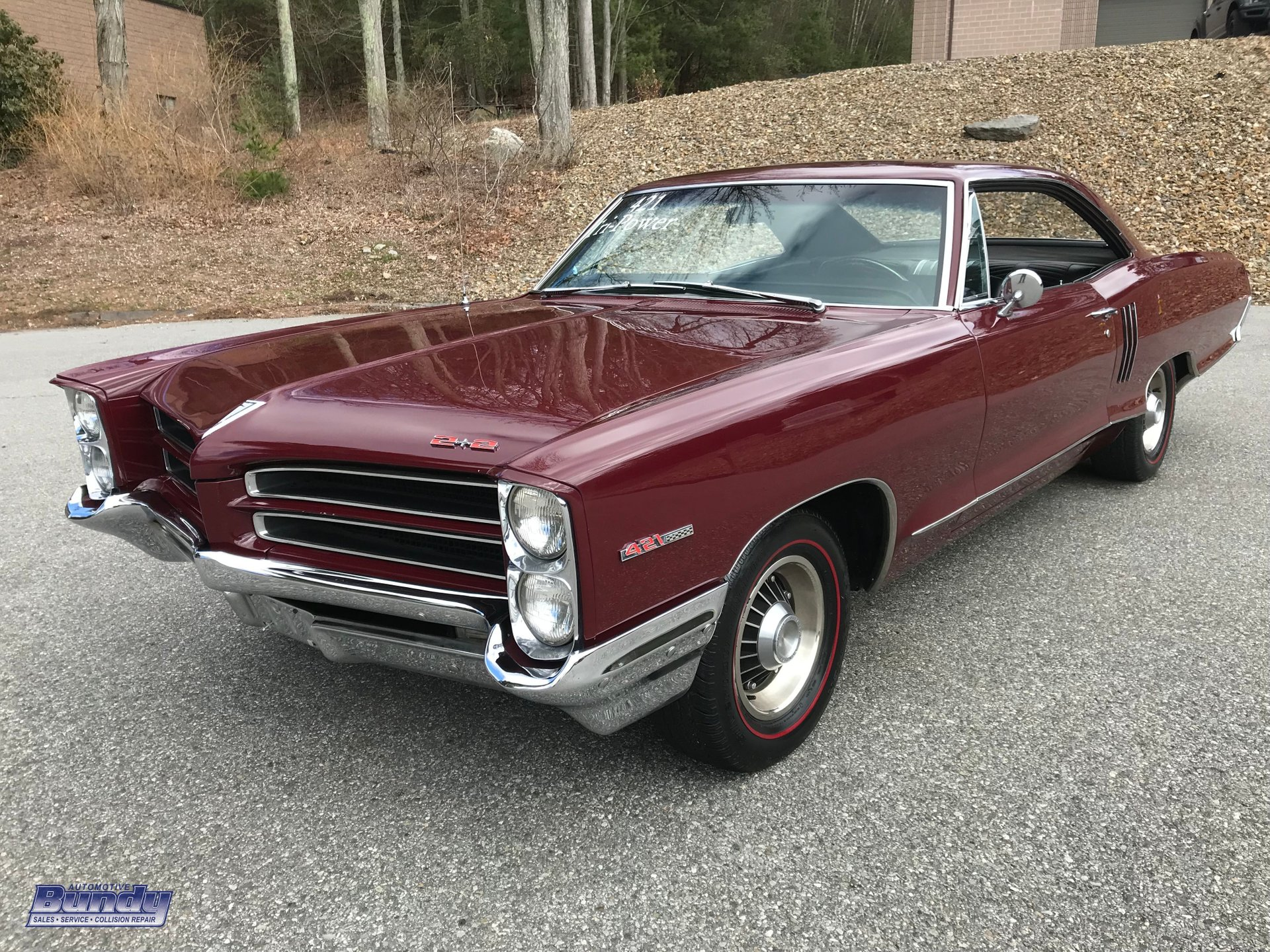 1966 pontiac catalina 2 2 tri power