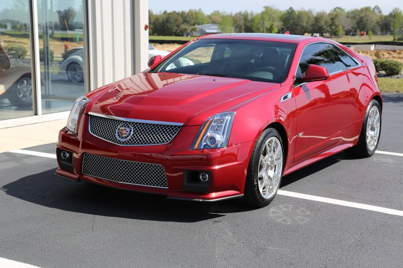 2012 Cadillac CTSV