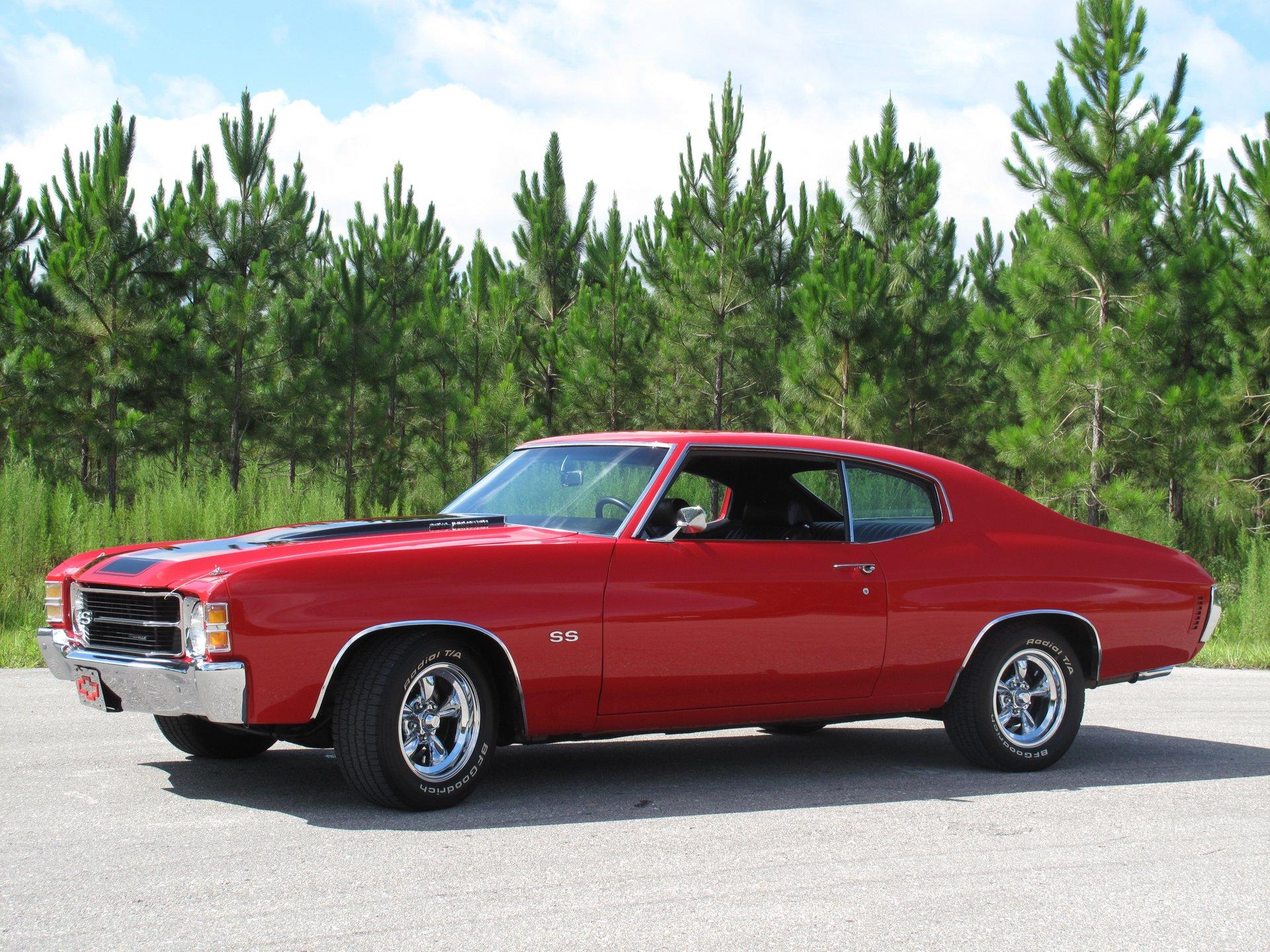 1971 chevrolet chevelle ss clone