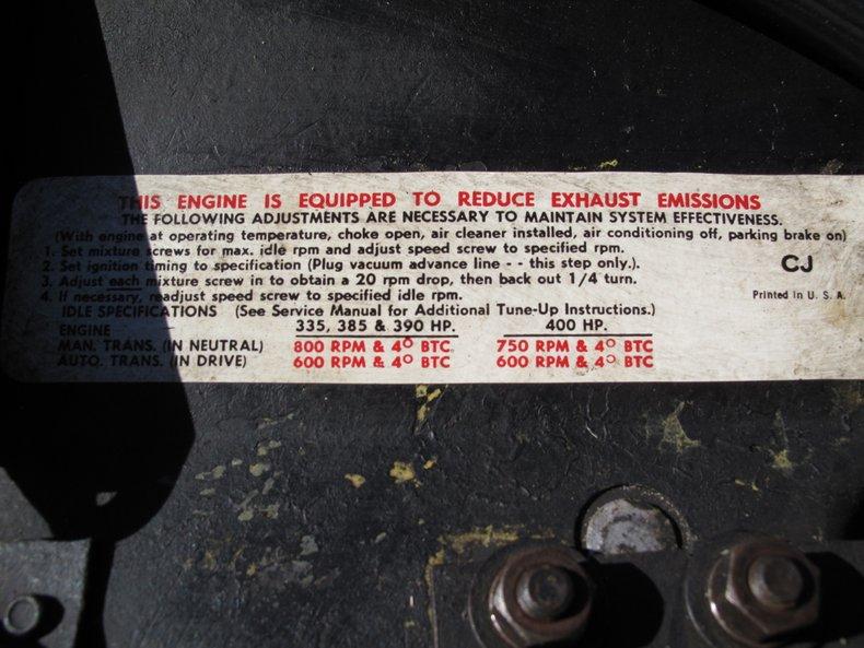 1969 Chevrolet Corvette 78