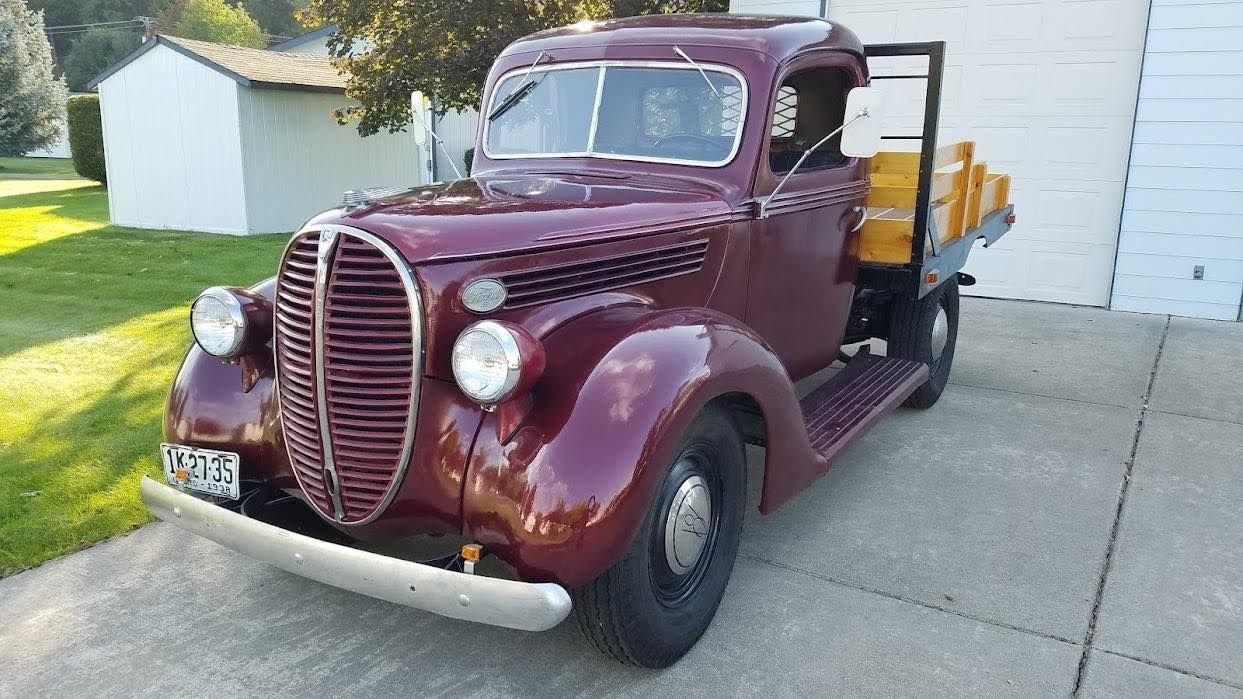 1938 ford 1 ton pickup