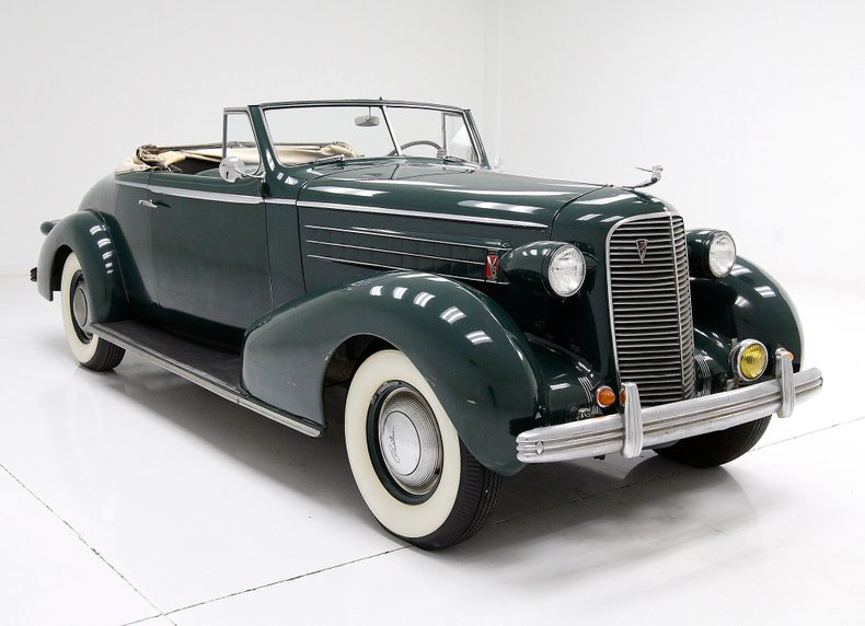 1936 Cadillac Fleetwood Convertible Coupe For Sale ...