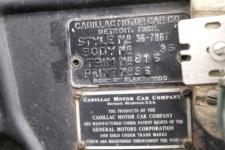 1936 Cadillac Fleetwood 17