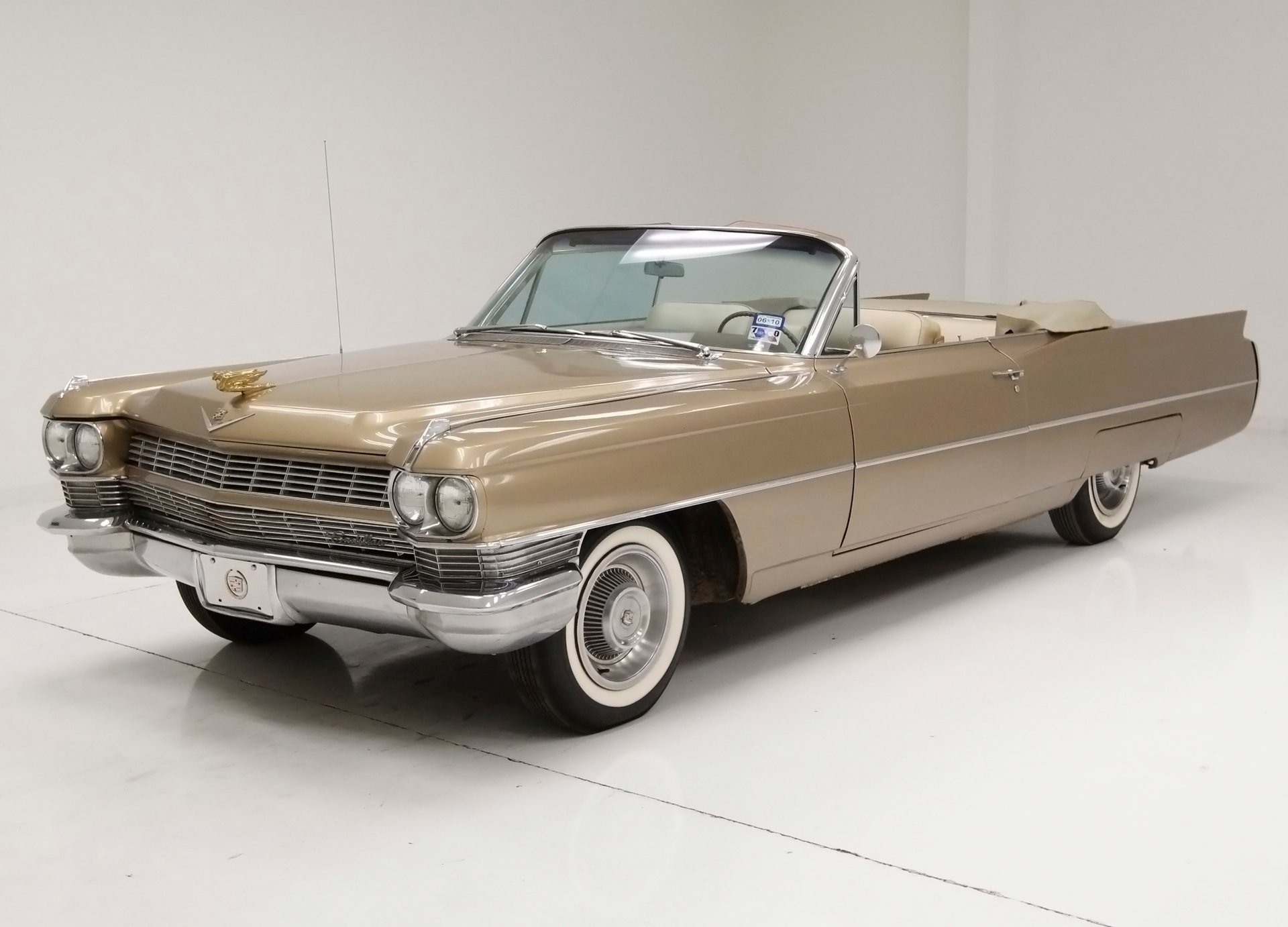 1964 Cadillac DeVille Convertible for sale #35924 | Motorious