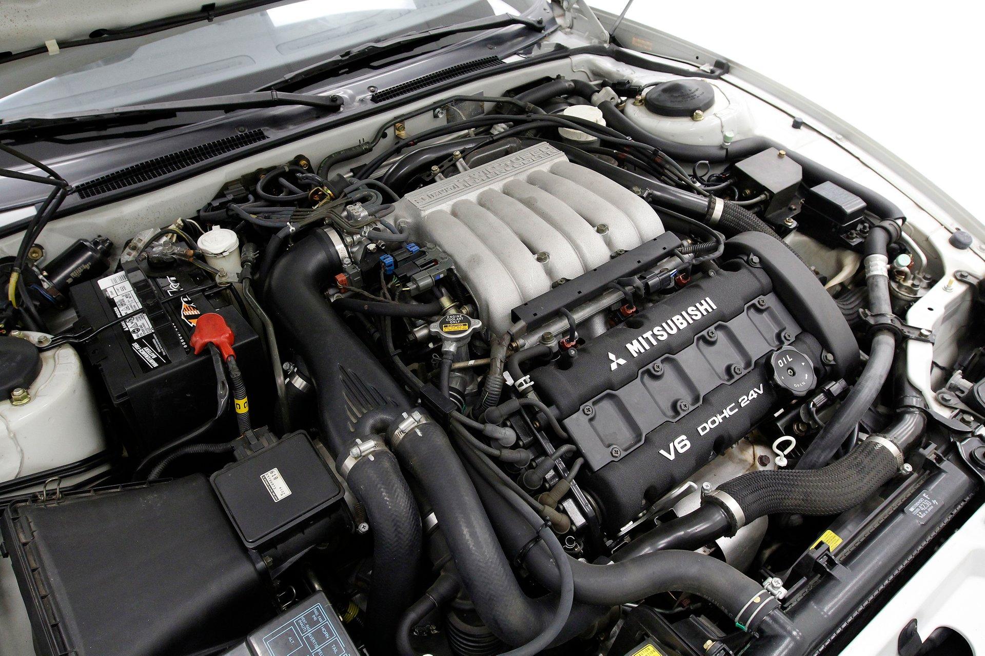 mitsubishi 3000gt vr4 engine
