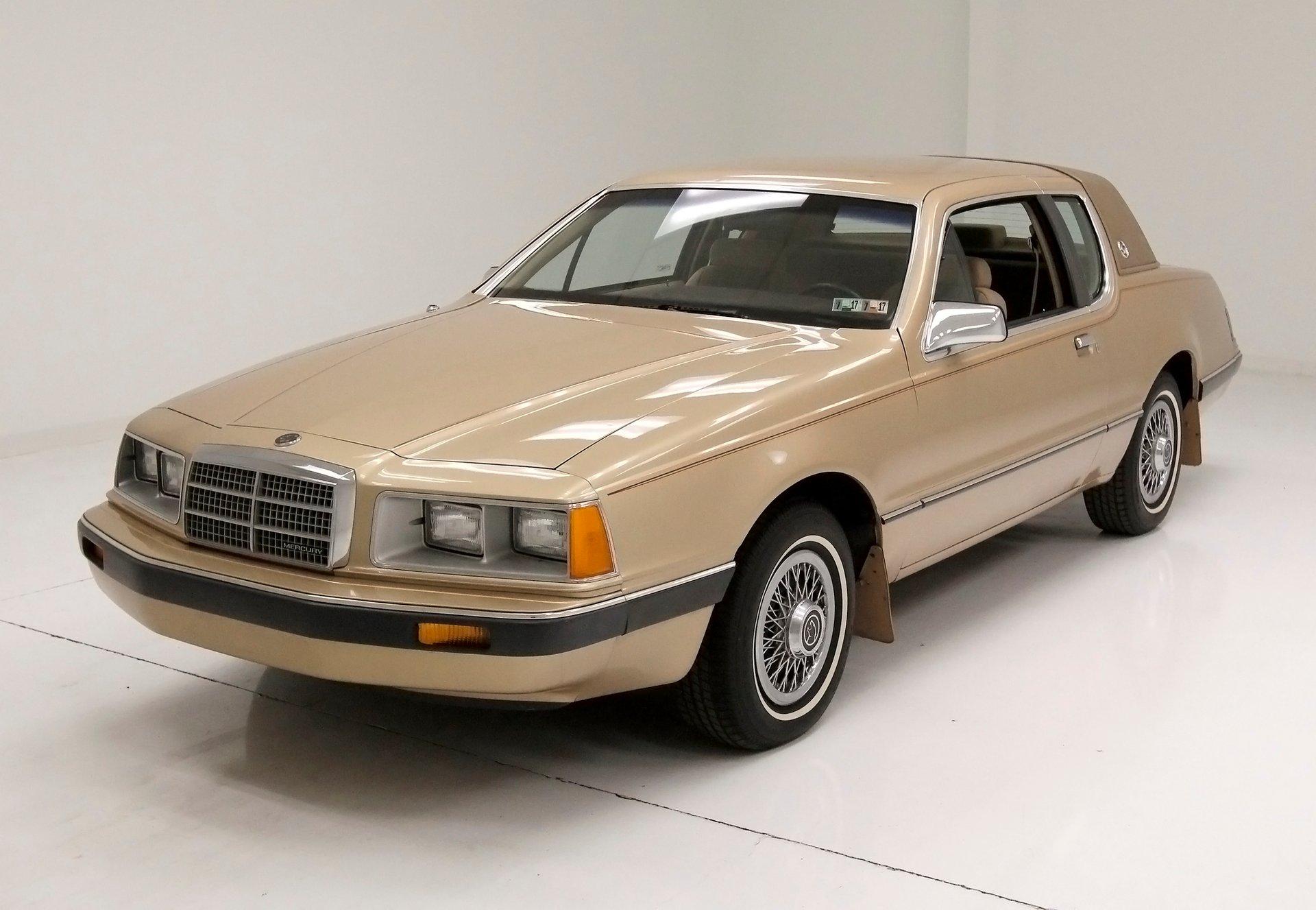 1986 Mercury Cougar