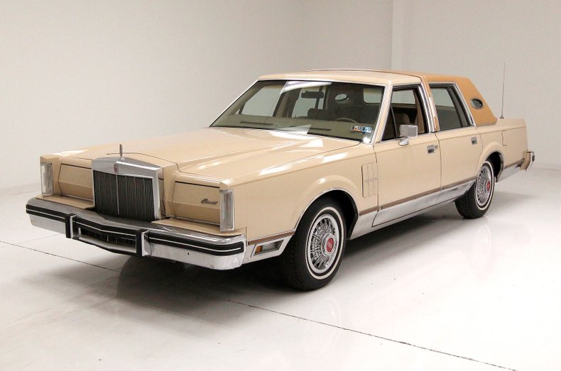 1980 Lincoln Continental For Sale