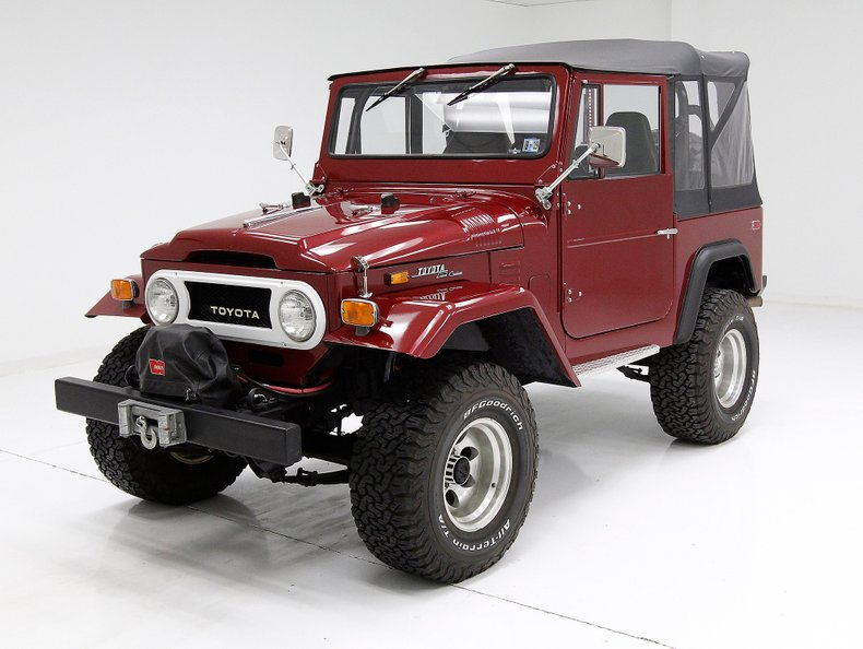 1971 Toyota Land Cruiser For Sale