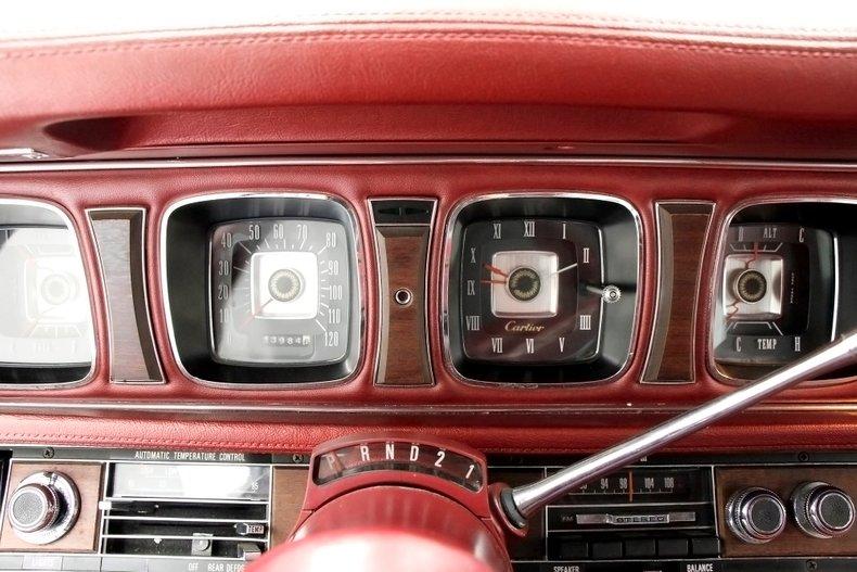 1971 Lincoln Mark III 32