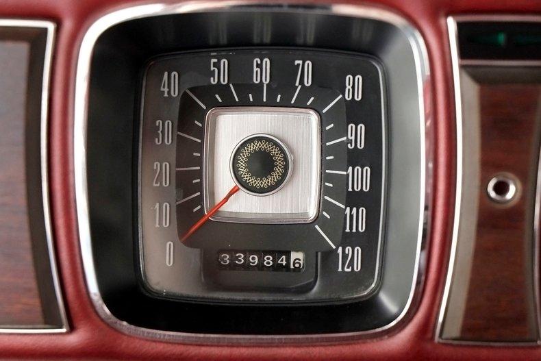 1971 Lincoln Mark III 33