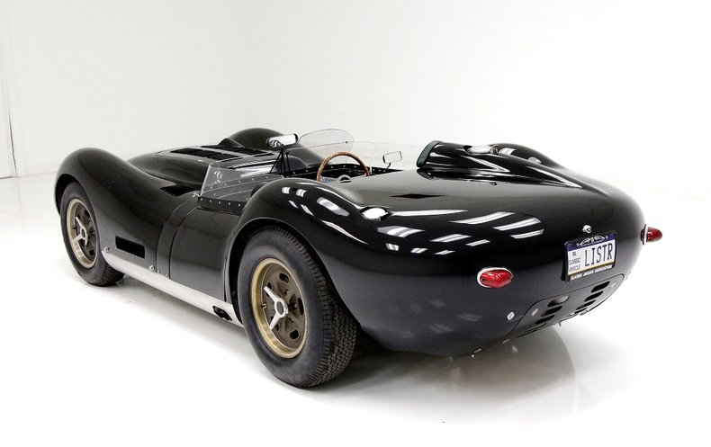 1958 Lister Jaguar Sports Racer 3