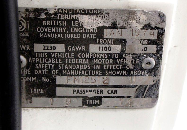 1974 Triumph Spitfire 15