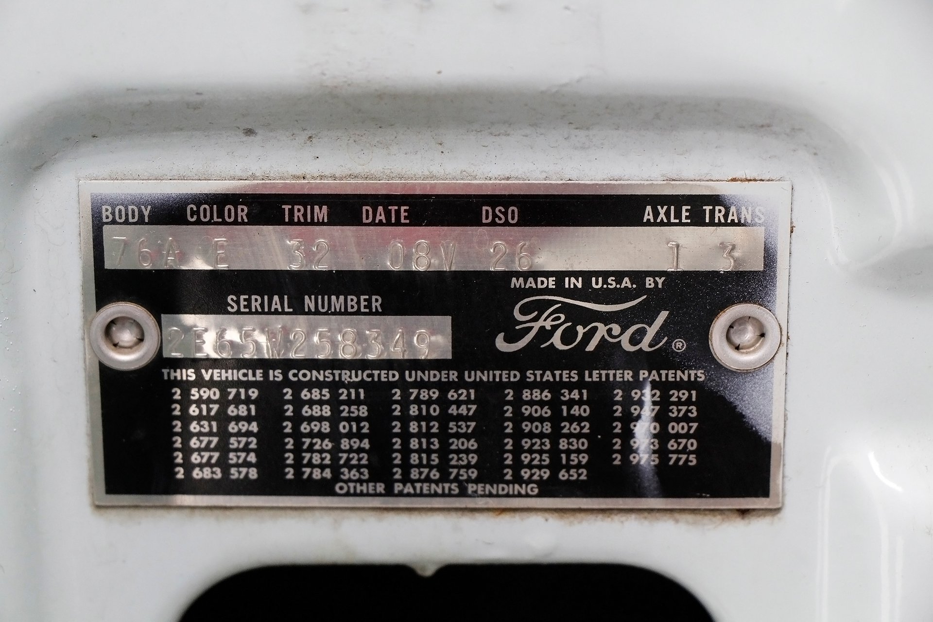 1962 Ford Galaxie 500 Sunliner for sale #170963 | Motorious