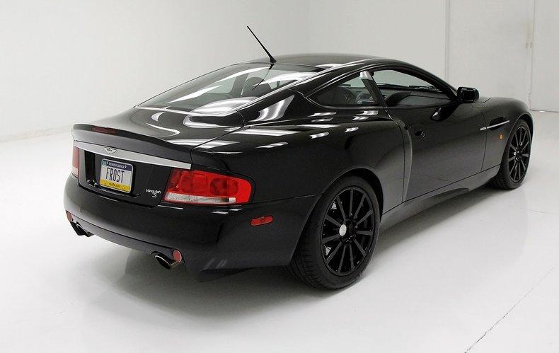 2006 Aston Martin Vanquish S 6