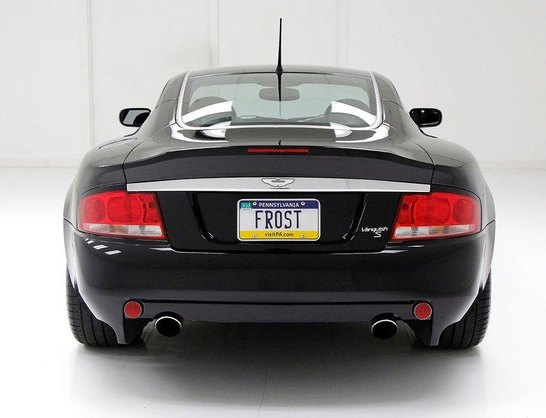 2006 Aston Martin Vanquish S 5