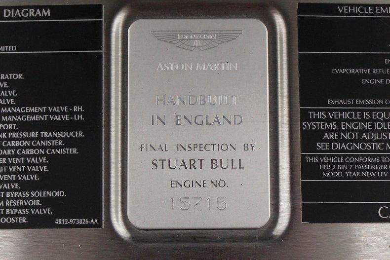 2006 Aston Martin Vanquish S 17