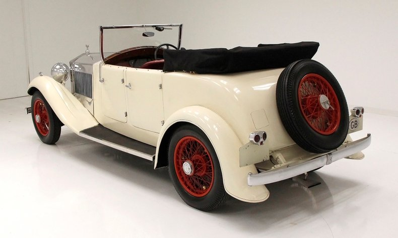 1933 Rolls-Royce Mayfair Phaeton 5