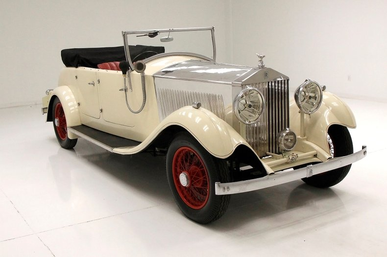 1933 Rolls-Royce Mayfair Phaeton 10