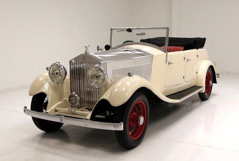 1933 Rolls-Royce Mayfair Phaeton 1
