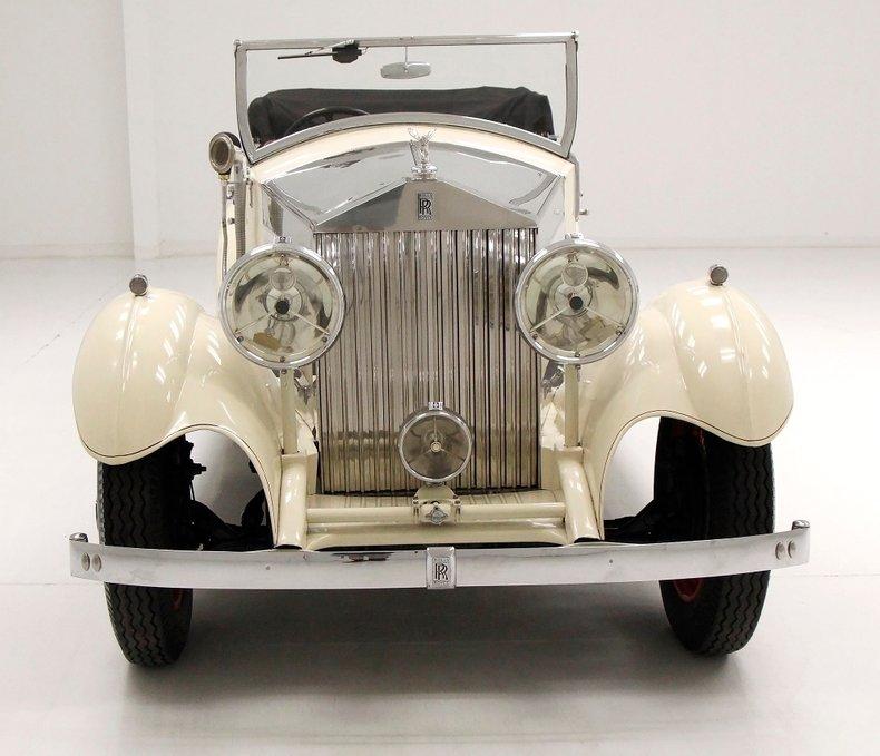 1933 Rolls-Royce Mayfair Phaeton 12