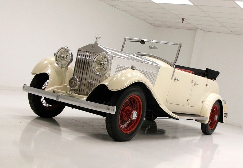 1933 Rolls-Royce Mayfair Phaeton 6