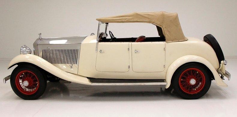 1933 Rolls-Royce Mayfair Phaeton 9