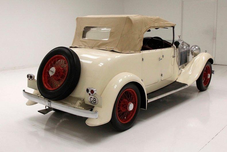 1933 Rolls-Royce Mayfair Phaeton 11