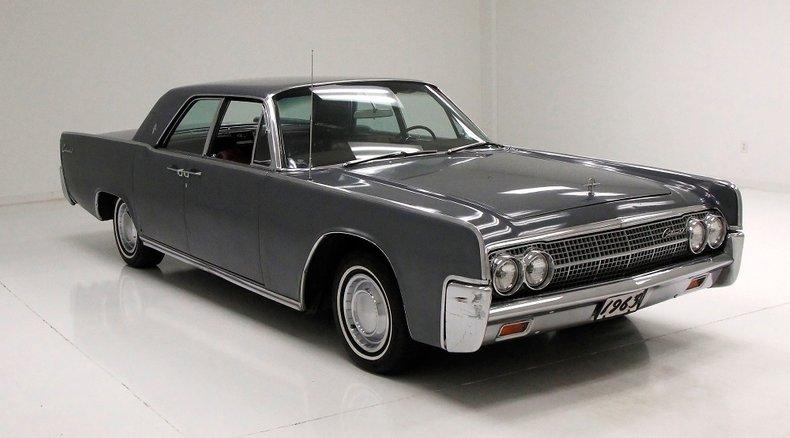 1963 Lincoln Continental 7