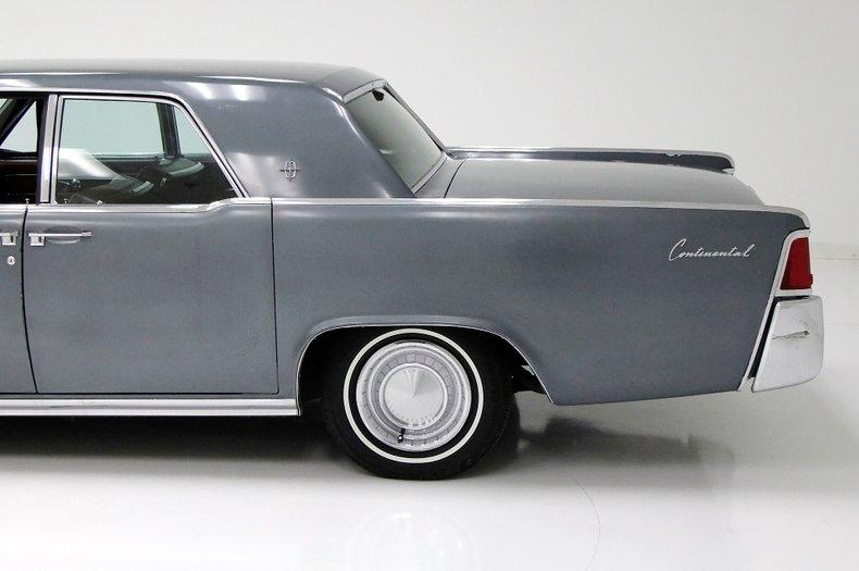 1963 Lincoln Continental 17