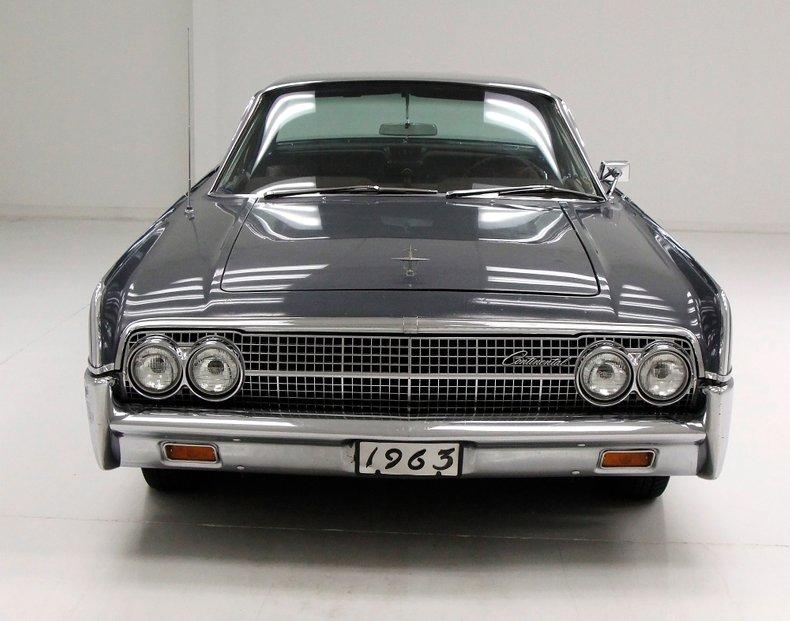 1963 Lincoln Continental 8