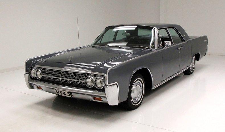 1963 Lincoln Continental 1