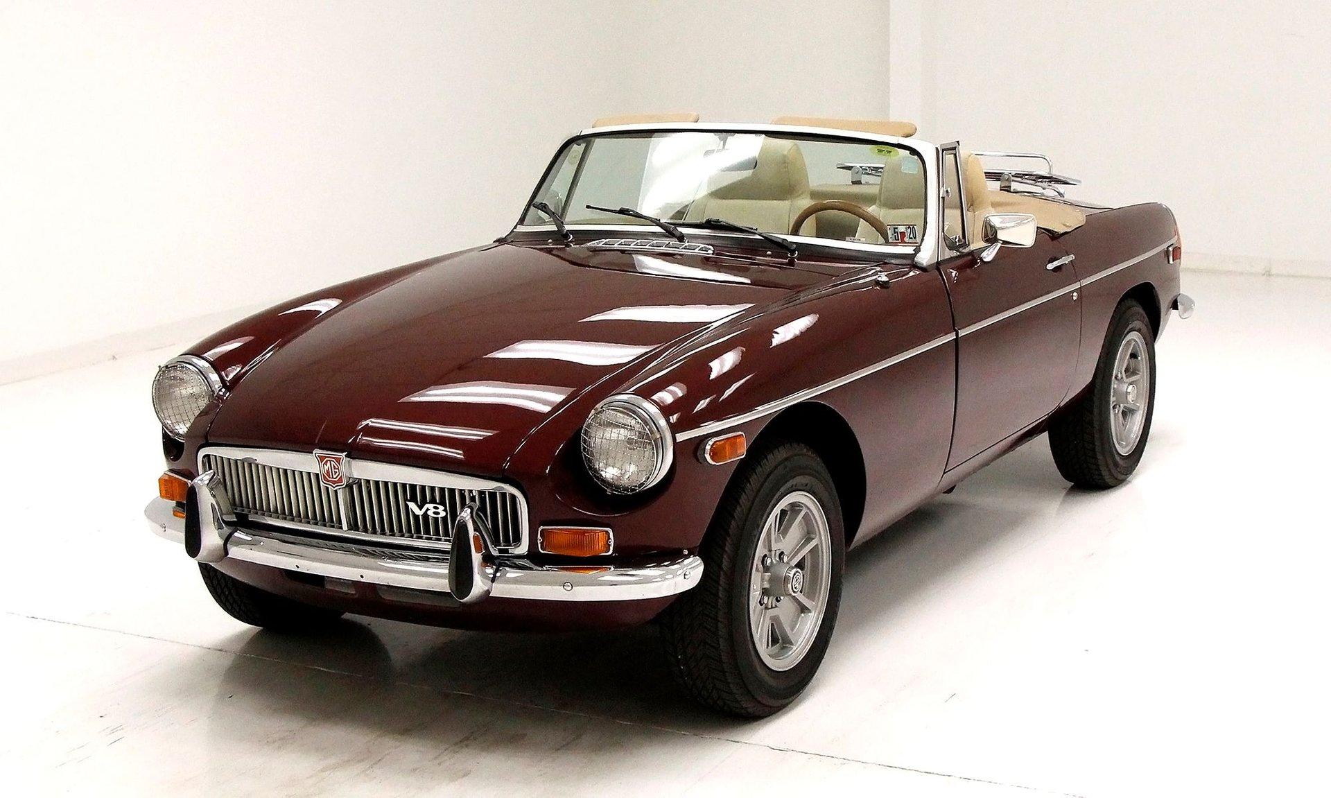 1975 MG B