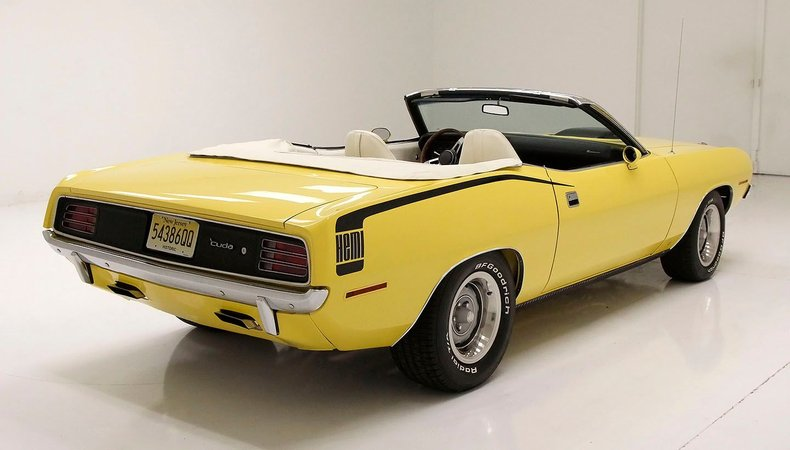 1970 Plymouth 'Cuda 7