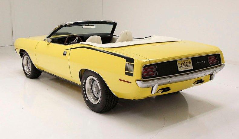 1970 Plymouth 'Cuda 4