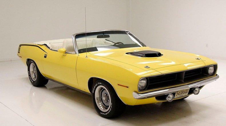 1970 Plymouth 'Cuda 9