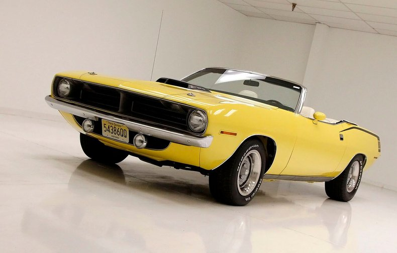 1970 Plymouth 'Cuda 12