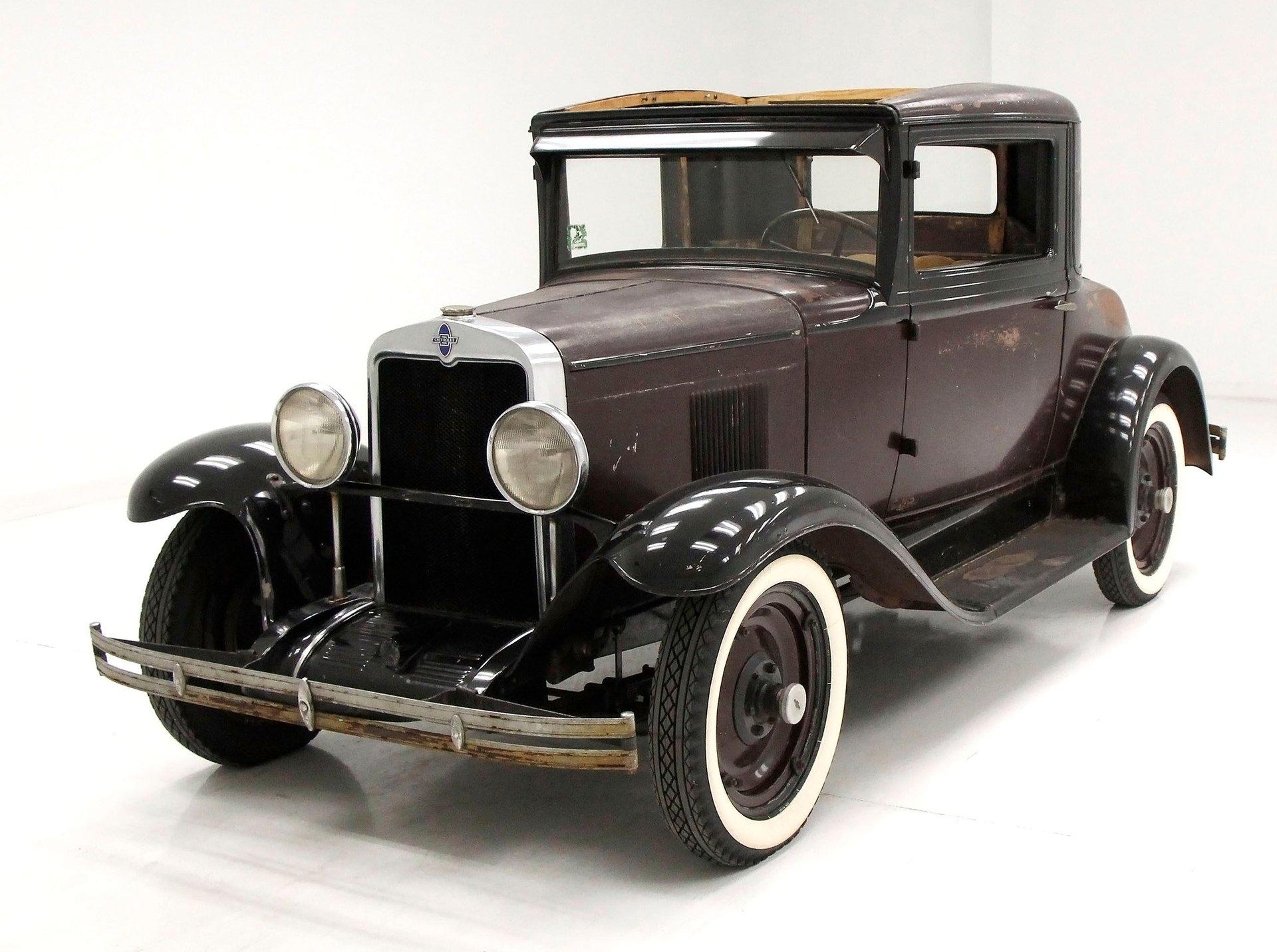 1930 Chevrolet 3 Window Coupe