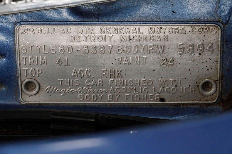 1960 Cadillac Coupe DeVille 60