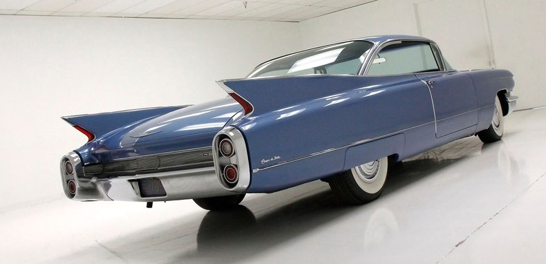 1960 Cadillac Coupe DeVille 9