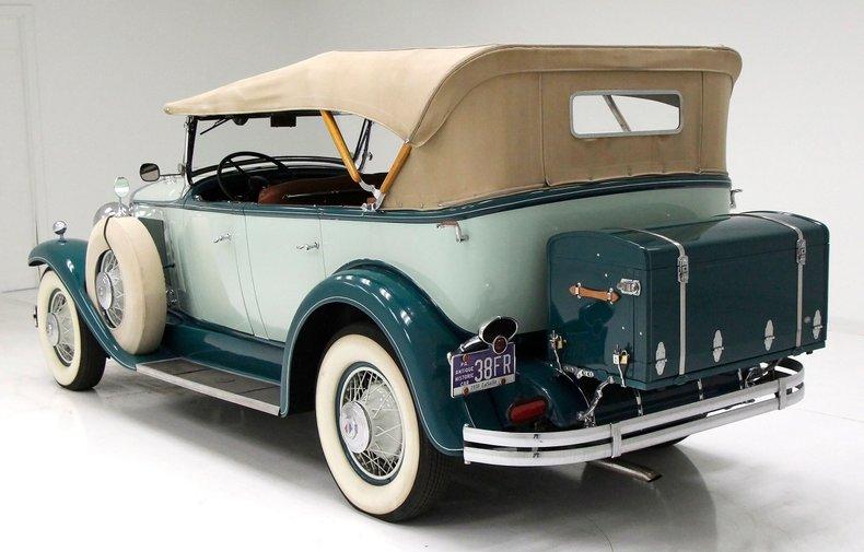 1930 LaSalle Phaeton 7 Passenger Touring Car 4