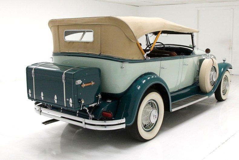 1930 LaSalle Phaeton 7 Passenger Touring Car 7