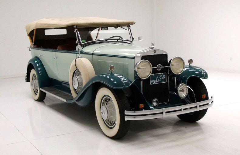 1930 LaSalle Phaeton 7 Passenger Touring Car 8